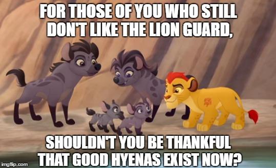 Good Hyenas meme by s233220