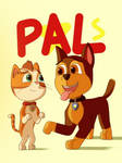 PAW Patrol Wildcat and Chase