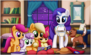 Story Time With Applejack