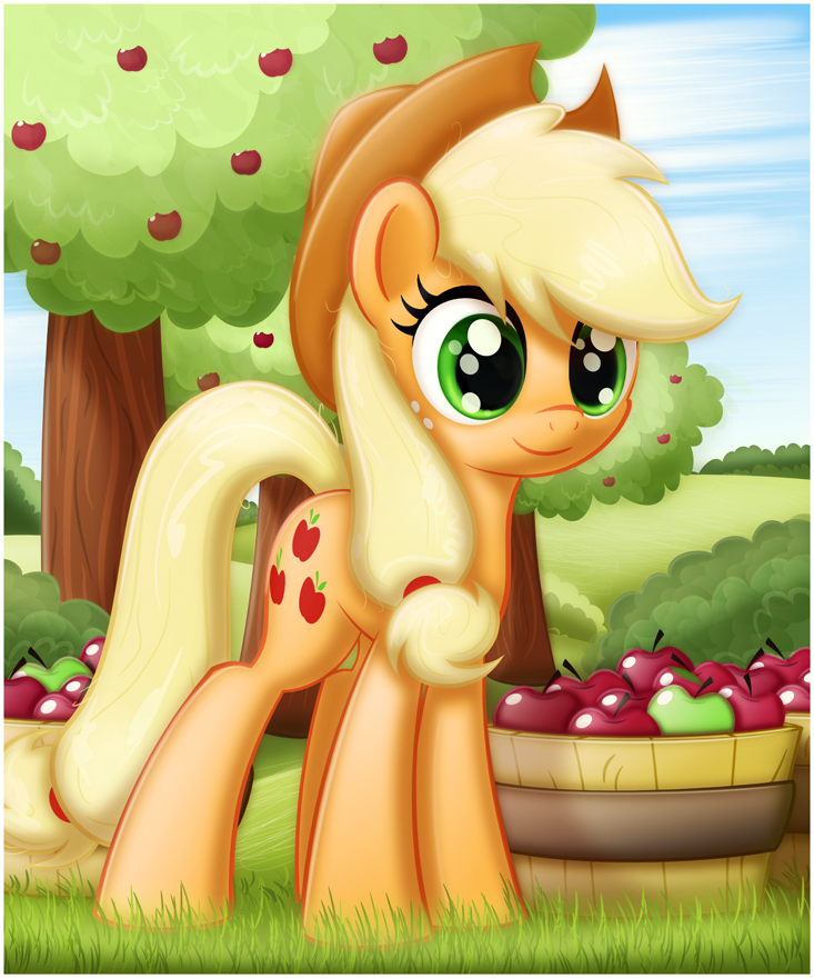 Apple Pony by CTB-36