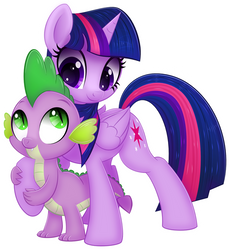 Spike and Twi by CTB-36