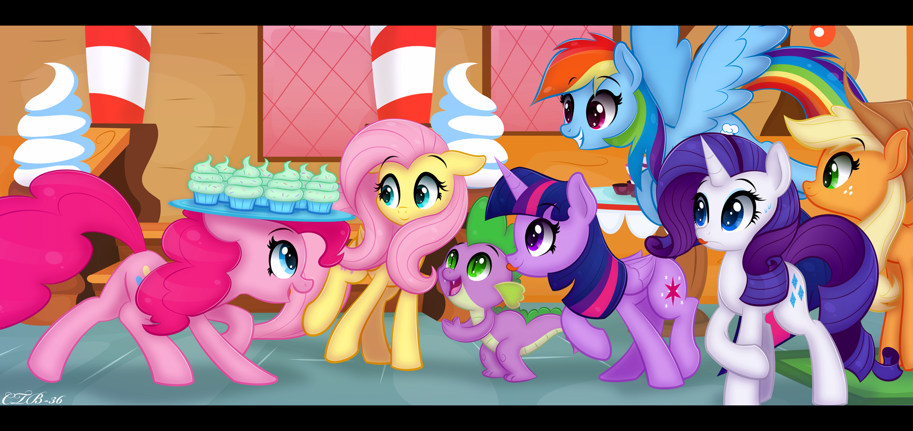Anypony want a cupcake?