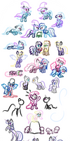 Scraps - Pony Doodles 1
