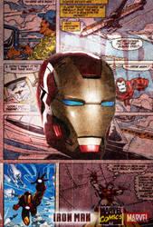 IRON MAN comic poster