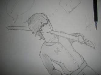 Shinji Namikaze [sketch]