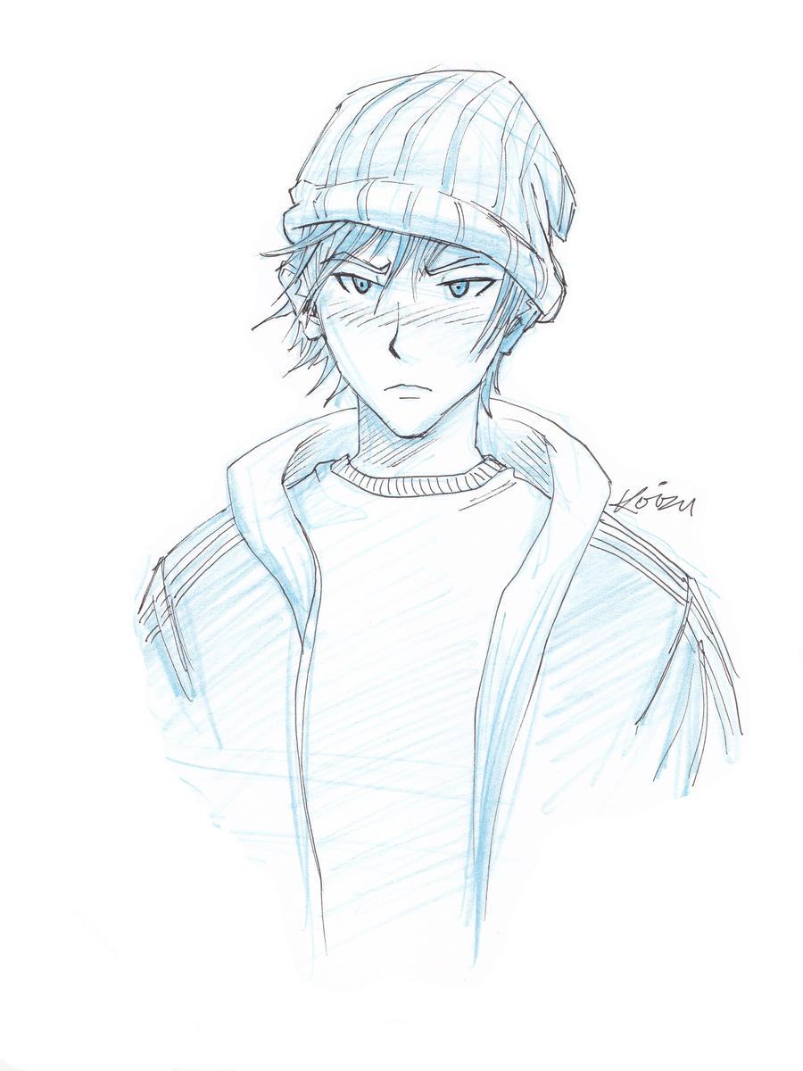 Manga Beanie Boy By MikeKoizumi