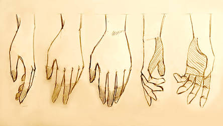 How to Draw Relaxed Hands: 5 Ways by MikeKoizumi