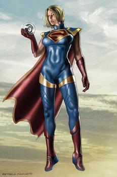 Supergirl by artist Raffaele Marinetti