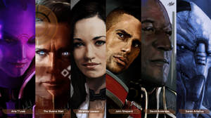 Mass Effect Characters #1