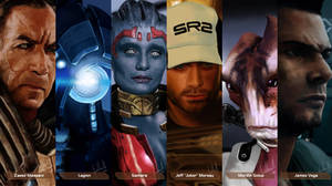 Mass Effect Characters #3