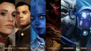 Mass Effect Characters #2