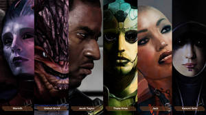 Mass Effect Characters #4