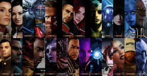 Mass Effect Illustrations by Facuam