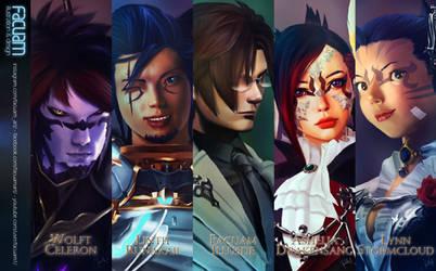 Final Fantasy XIV - fanart