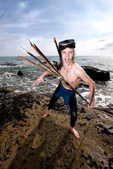 Spear fishin