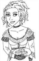 Sweeney Todd Sketch by SweetFaith06