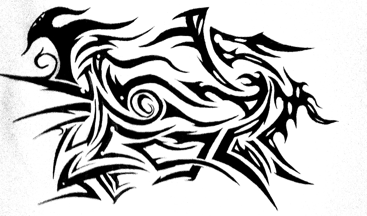Traditional Tattoo Line Drawing : Tattoo tumblr drawing at getdrawings free for personal use