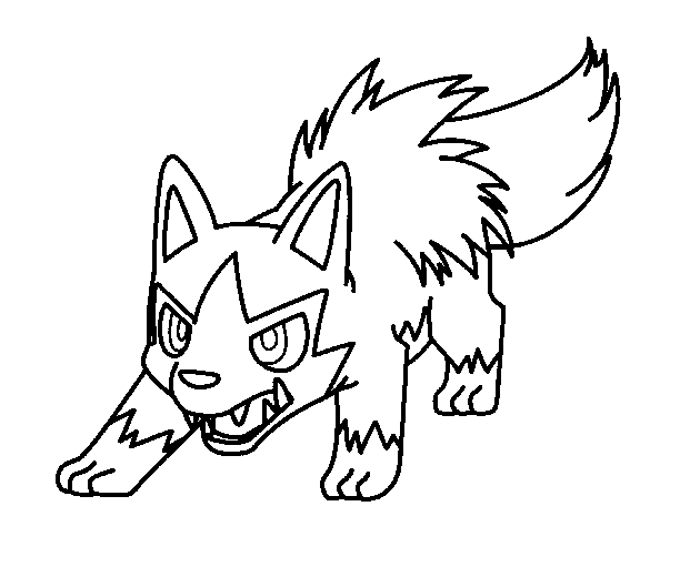 poochyena coloring pages poochyena template by shadowxmephiles on deviantart