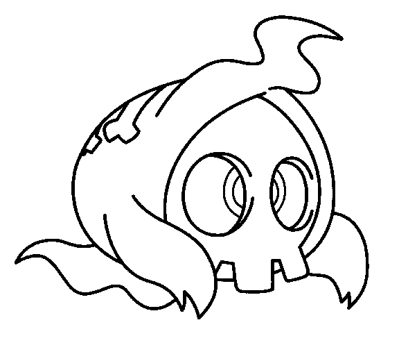 duskull pokemon coloring pages - photo#3