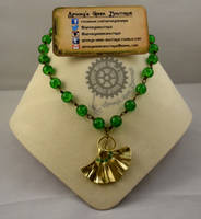 Ginkgo in Gold Necklace