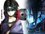 Itachi and Saskue by TrIsTaN0123