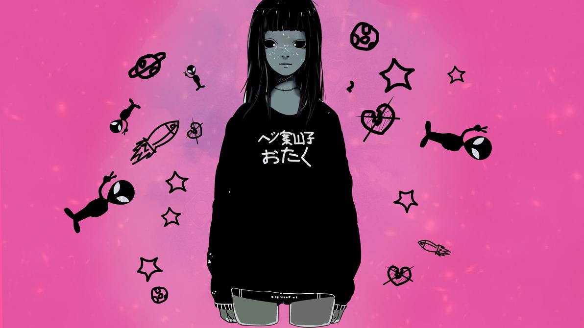 a garota alien by penkakashi