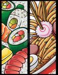 Japanese Food Bookmarks