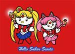 Hello Sailor Scouts by JellySoupStudios
