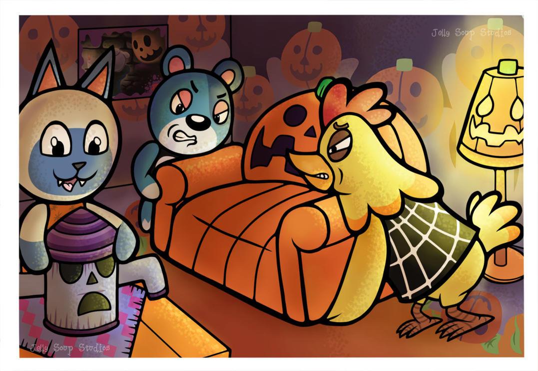 Halloween Furniture by JellySoupStudios