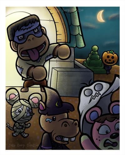 Halloween by JellySoupStudios