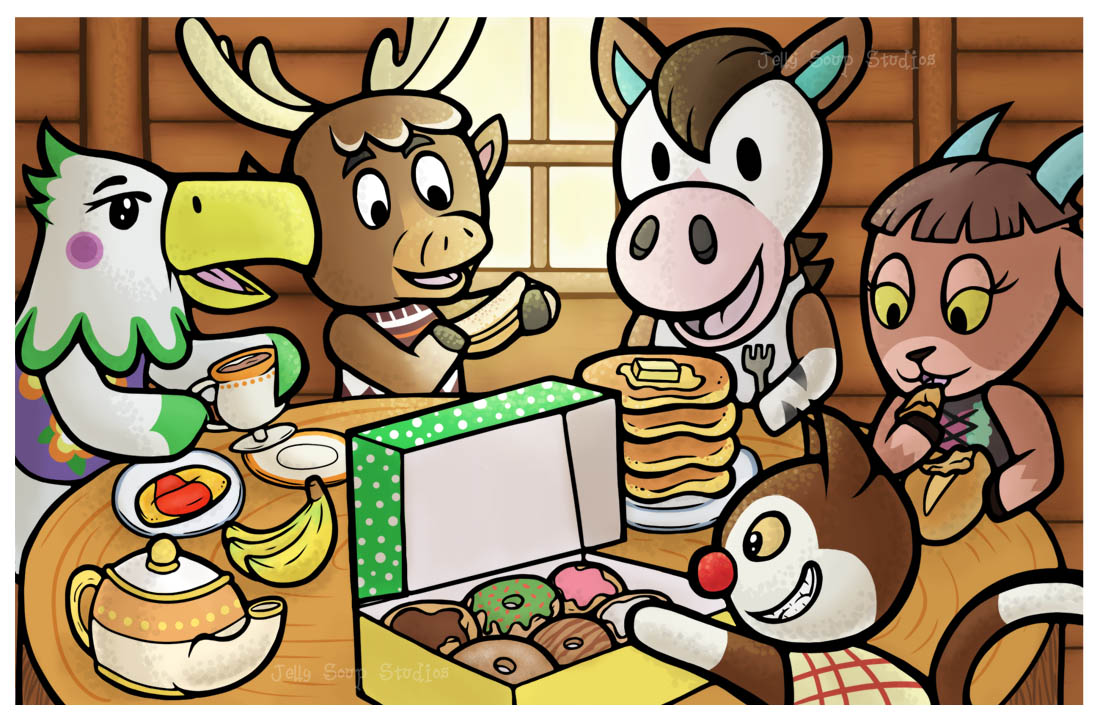 Breakfast by JellySoupStudios