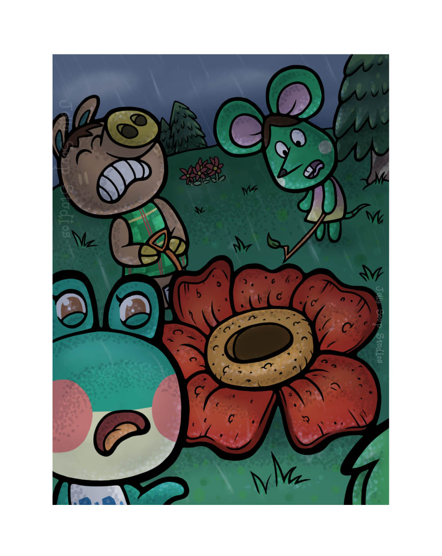 Rafflesia by JellySoupStudios