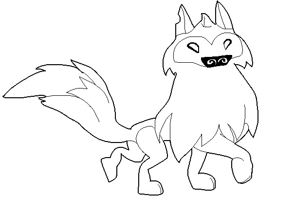 animal jam arctic wolf coloring pages animal jam free arctic wolf base by fivenightsatchesters