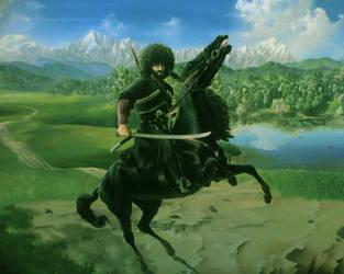 Caucasian Mountain's warrior by CaucasianEagle