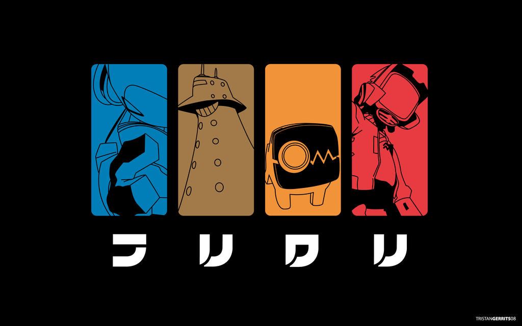 flcl wallpaper. robots wallpaper. FLCL