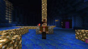 Minecraft 11th Doctor in the TARDIS! :)