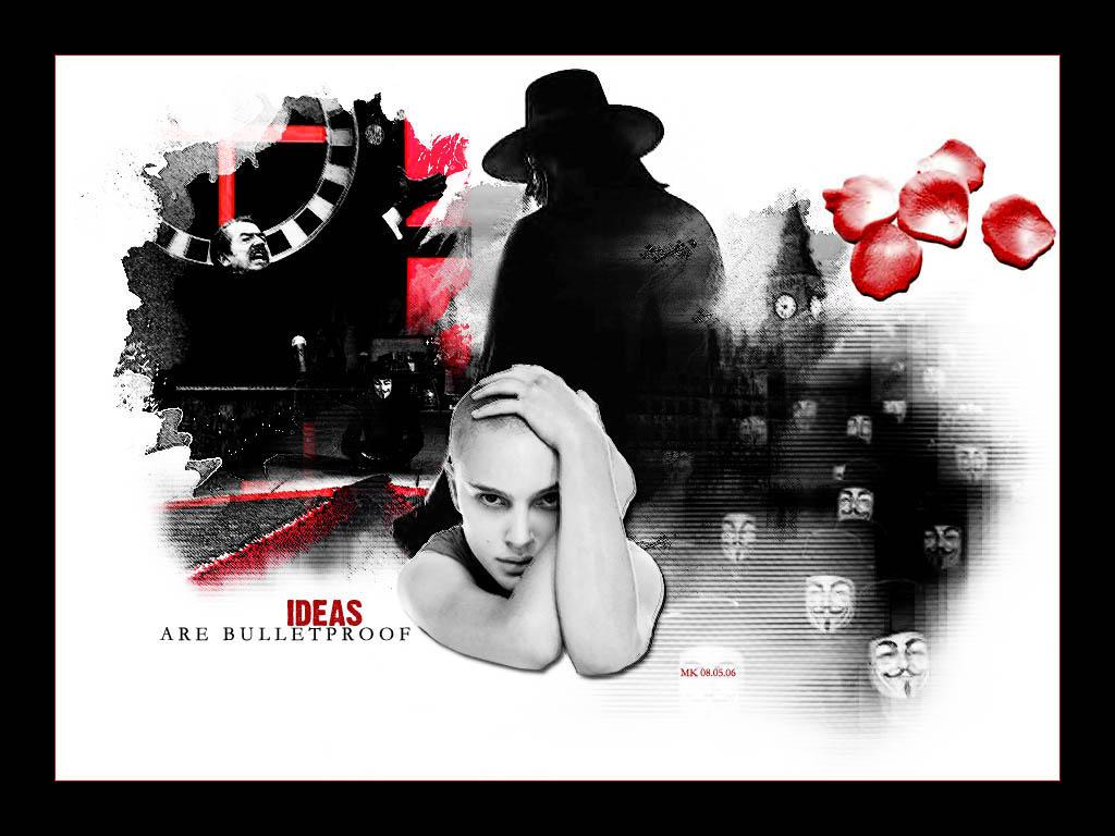 V for Vendetta by Selfish-Eden