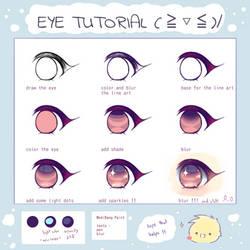 Eye  tutorial !!! by antay6oo9