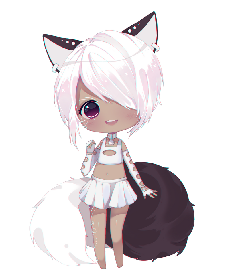 marshmallow chibi commission by Antay6009 on DeviantArt