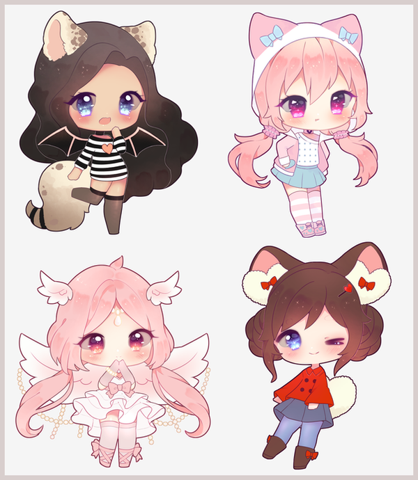 Simple Chibi Commission BATCH By Antay6009 On DeviantArt