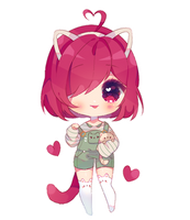 Sayaxchi [simple chibi commission] by antay6oo9