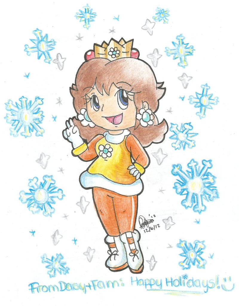 Daisy: Winter Outfit by goldenwinterdaisies