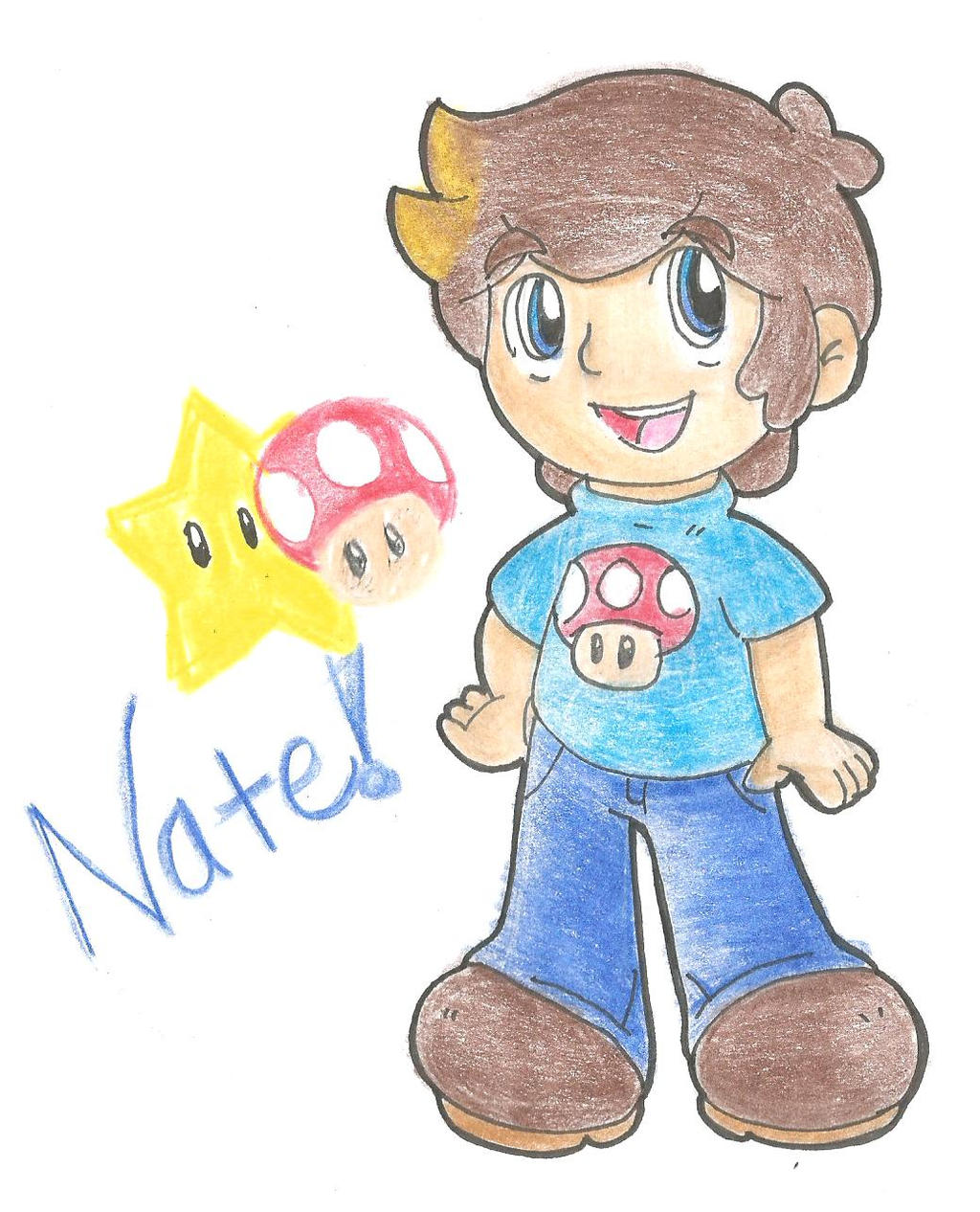 New OC: Nate by goldenwinterdaisies