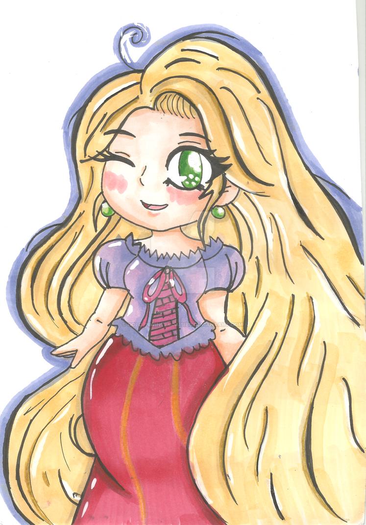 Rapunzel by goldenwinterdaisies