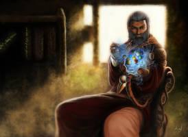 Elminster,I'll tell ye a tale by Nusquam-Vir