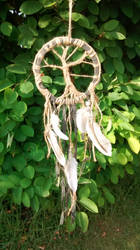 Tree of Life Dreamcatcher by MeridithRose