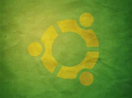 Green Paper Ubuntu yellow by azzza