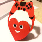 Heart with gamepad