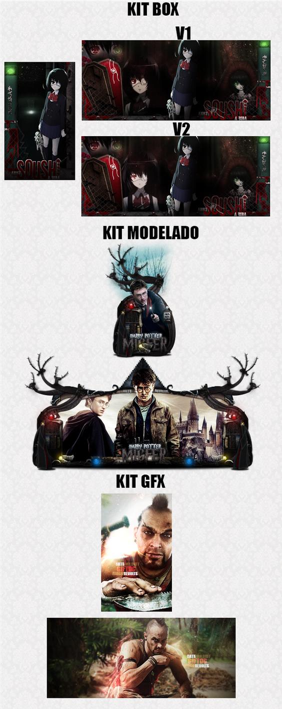 Kits testes designer by DuffCD