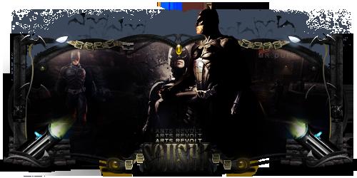 Batman - to davidx by DuffCD